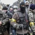 Piazza Maidan: fascisti