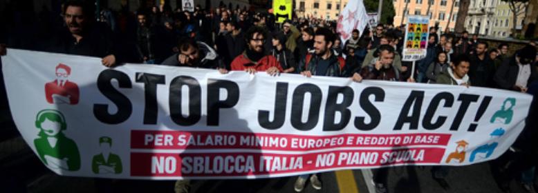 Jobs Act: meno soldi