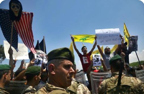 Hezbollah e l'ingerenza USA