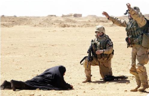 distruzione dell'Iraq